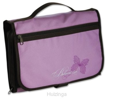 Biblecover large trifold lavender/chocol