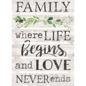 Family: where life begins and love never